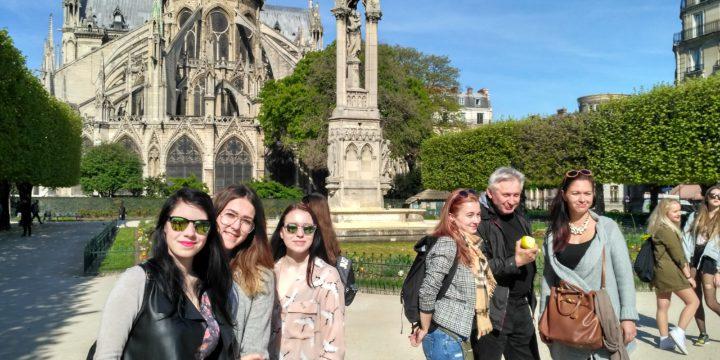 SŠUM na poznávacím zájezdu do Paříže